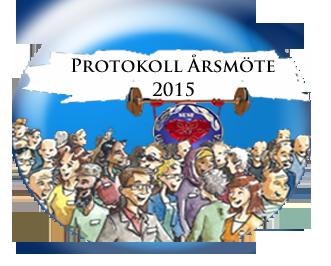 Protokoll Årsmöte 2015